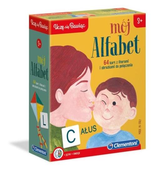 Clementoni Mój alfabet 50082 p6, cena za 1szt. (50082 CLEMENTONI)