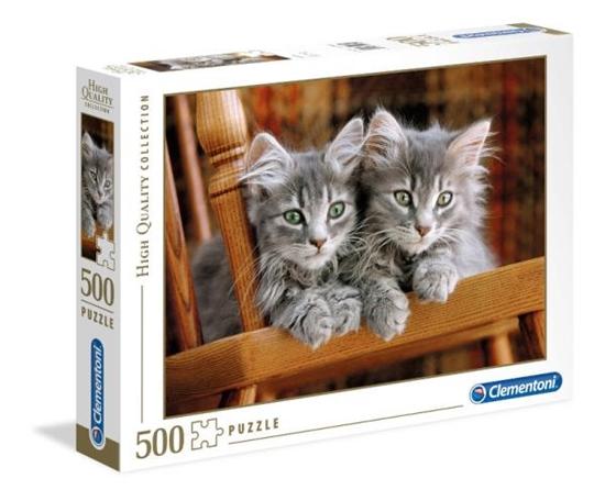 Clementoni Puzzle 500el Kociaki 30545 (30545 CLEMENTONI)