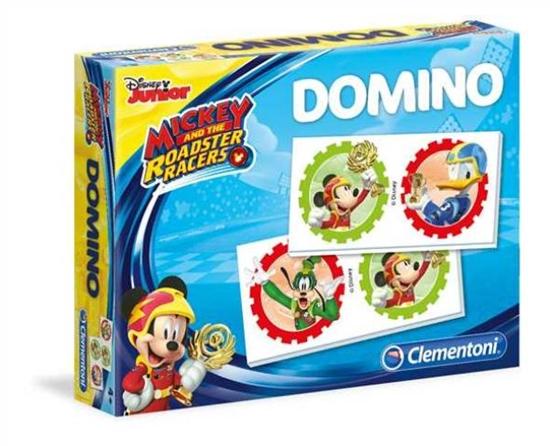 Clementoni Domino Pocket Mickey Roadster 18016  p8, cena za 1szt. (18016  CLEMENTONI)