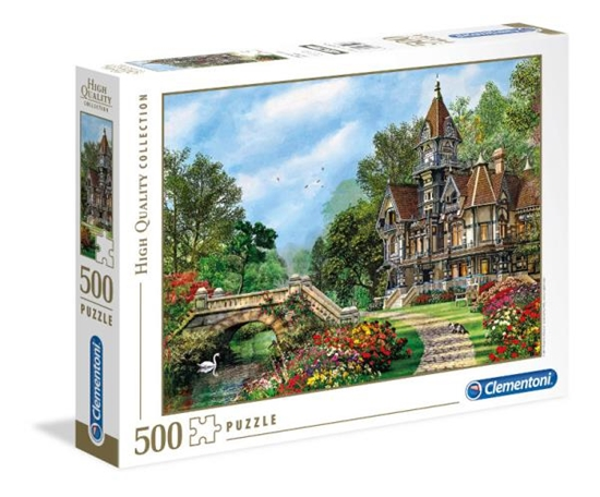 Clementoni Puzzle 500el Old Waterway Cottage 35048 (35048 CLEMENTONI)