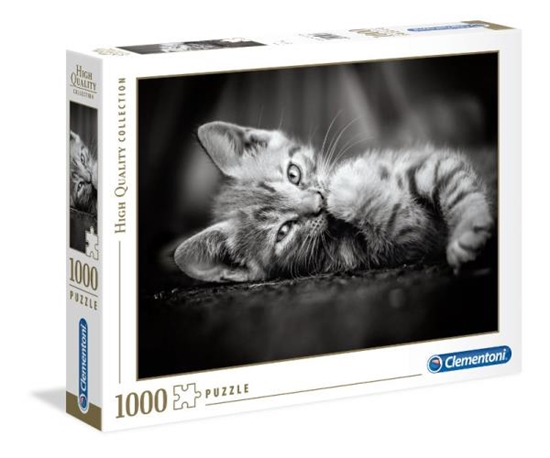 Clementoni Puzzle 1000el High Quality Collection. Kitty 39422 (39422 CLEMENTONI)