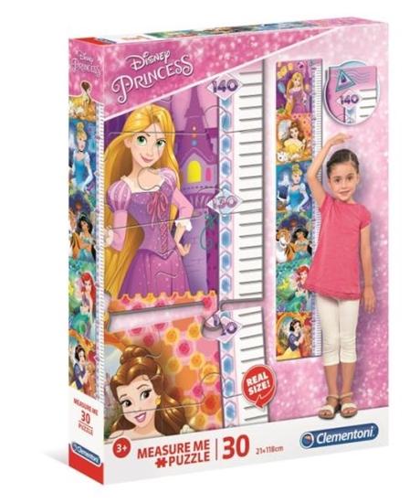 Clementoni Puzzle 30el Miarka Princess 20328 p6 (20328 CLEMENTONI)