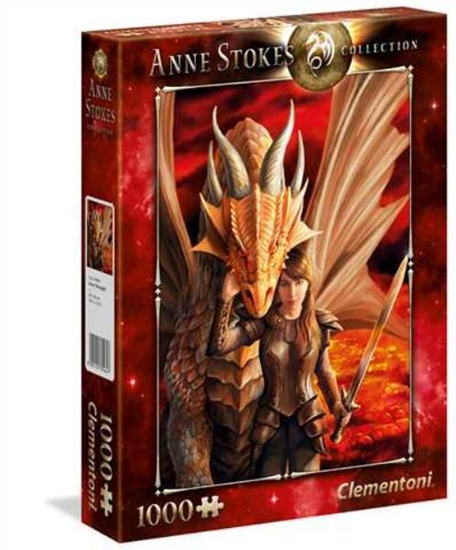 Clementoni Puzzle 1000el Inner Strength Anne Stokes 39464 p6, cena za 1szt. (39464 CLEMENTONI)