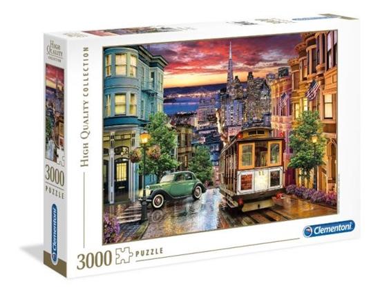 Clementoni Puzzle 3000el San Francisco 33547 p6, cena za 1szt. (33547 CLEMENTONI)