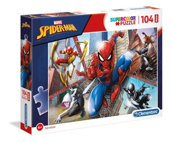 Clementoni Puzzle 104el MAXI SUPER KOLOR  Spider-Man 23734 p6 (23734 CLEMNTONI)