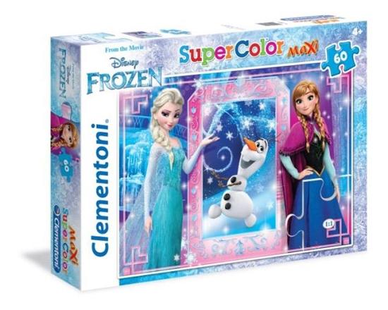 Clementoni Puzzle 60el Maxi  Frozen 26411 (26411 CLEMENTONI)