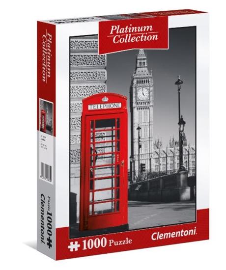Clementoni Puzzle 1000el Platinum Collection: London 39397 p6, cena za 1szt. (39397 CLEMENTONI)