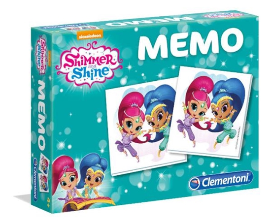 Clementoni Memo Shimmer i Shine 18002  p8, cena za 1szt. (18002 CLEMENTONI)