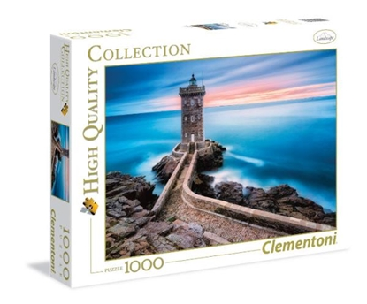 Clementoni Puzzle 1000el HQ Latarnia morska 39334 p6, cena za 1szt. (39334 CLEMENTONI)