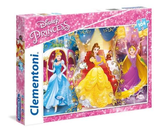 Clementoni Puzzle 104el Princess 27983 p6, cena za 1szt. (27983 CLEMENTONI)