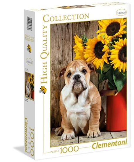 Clementoni Puzzle 1000el HQ  The Bulldog 39365 p6, cena za 1szt. (39365 CLEMENTONI)