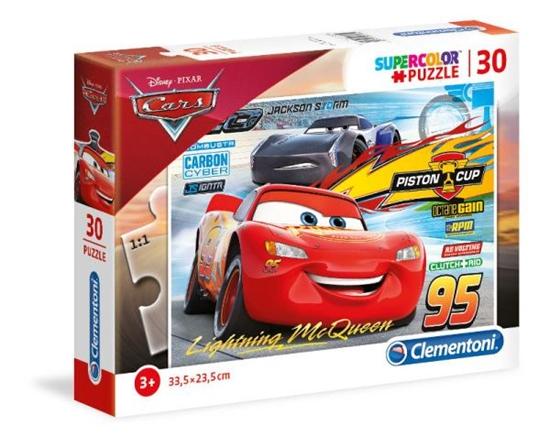 Clementoni Puzzle 30el Cars 3 08513 p6, cena za 1szt. (08513 CLEMENTONI)