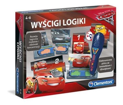Clementoni Kojarz i ucz się Cars 60971 p6, cena za 1szt. (60971 CLEMENTONI)