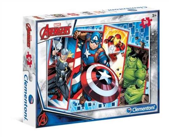 Clementoni Puzzle 30el The Avengers 08518 p6, cena za 1szt. (08518 CLEMENTONI)