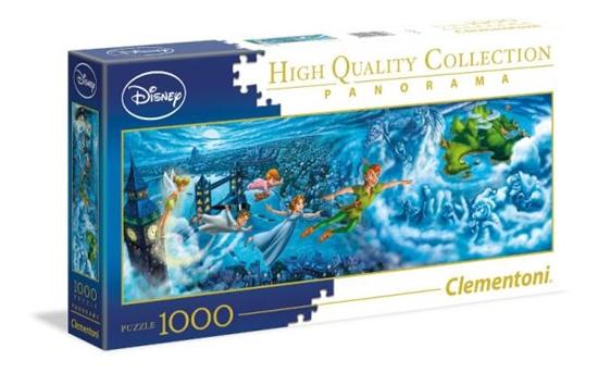 Clementoni Puzzle 1000el Panorama - Peter Pan 39448 p6, cena za 1szt. (39448 CLEMENTONI)