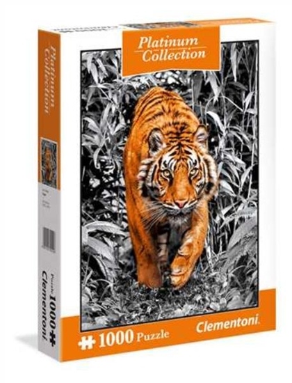 Clementoni Puzzle 1000el Platinum 2018 - Tiger 39429 p6, cena za 1szt. (39429 CLEMENTONI)