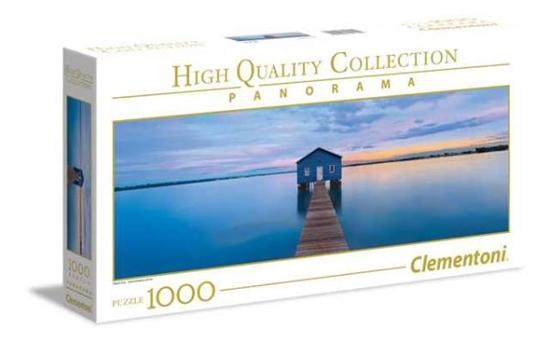 Clementoni Puzzle 1000el HQC Panorama Blue Calm 39439 p6, cena za 1szt. (39439 CLEMENTONI)