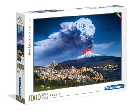 Clementoni Puzzle 1000el Italian Collection Etna 39453 p6, cena za 1szt. (39453 CLEMENTONI)