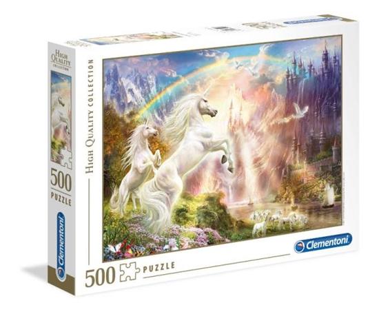 Clementoni Puzzle 500el HQC Sunset Unicorns 35054 (35054 CLEMENTONI)