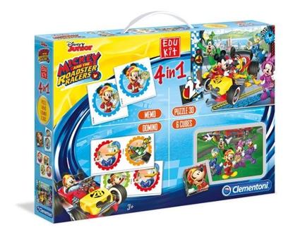 Clementoni Edukit 4w1 Mickey and the Roadster Racers  13760  p6, cena za 1szt. (13760 CLEMENTONI)