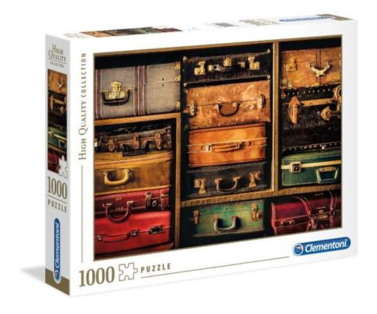 Clementoni Puzzle 1000el HQC Travel 39423 p6, cena za 1szt. (39423 CLEMENTONI)