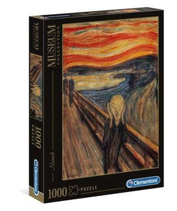Clementoni Puzzle 1000el Munch: Krzyk 39377 p6, cena za 1szt. (39377 CLEMENTONI)