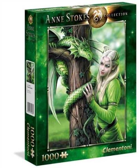 Clementoni Puzzle 1000el Kindred Spirits Anne Stokes 39463 p6, cena za 1szt. (39463 CLEMENTONI)