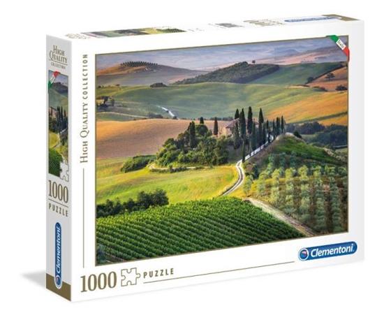 Clementoni Puzzle 1000el Italian Collection Toscana 39456 p6, cena za 1szt. (39456 CLEMENTONI)