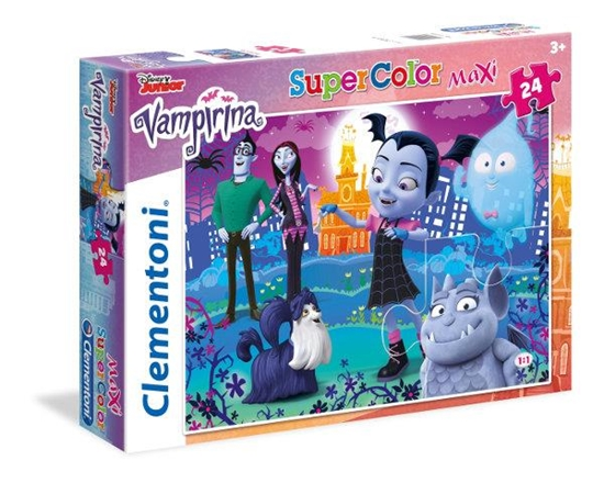 Clementoni Puzzle Maxi 24el Vampirina 24499 (24499 CLEMENTONI)