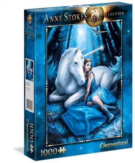 Clementoni Puzzle 1000el Blue Moon Anne Stokes 39462 p6, cena za 1szt. (39462 CLEMENTONI)