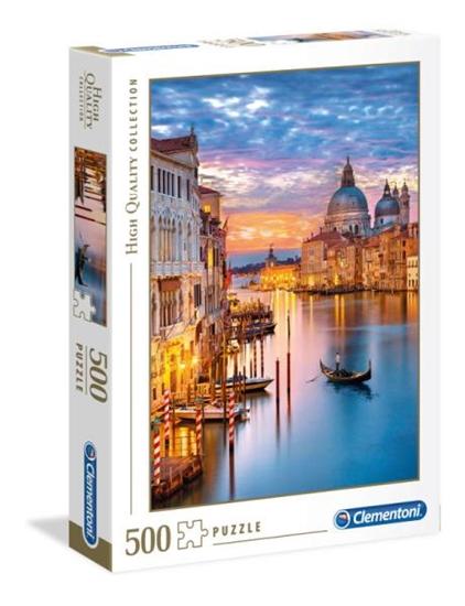 Clementoni Puzzle 500el HQC Lighting Venice 35056 (35056 CLEMENTONI)