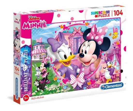 Clementoni Puzzle 104el Brilliant Minnie Mouse 20145 (20145 CLEMENTONI)
