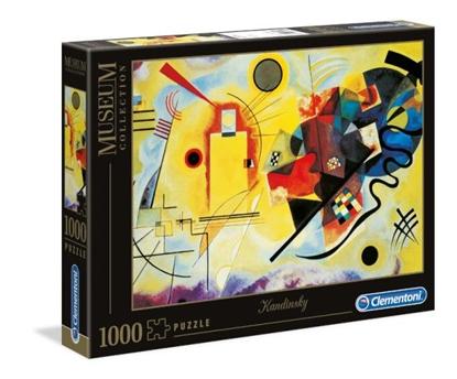 Clementoni Puzzle 1000el Kandinsky Żółty-Czerwony-Niebieski 39195 p6 (39195 CLEMENTONI)