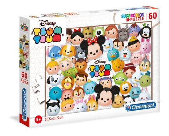 Clementoni Puzzle 60el Tsum Tsum 26951 (26951 CLEMENTONI)