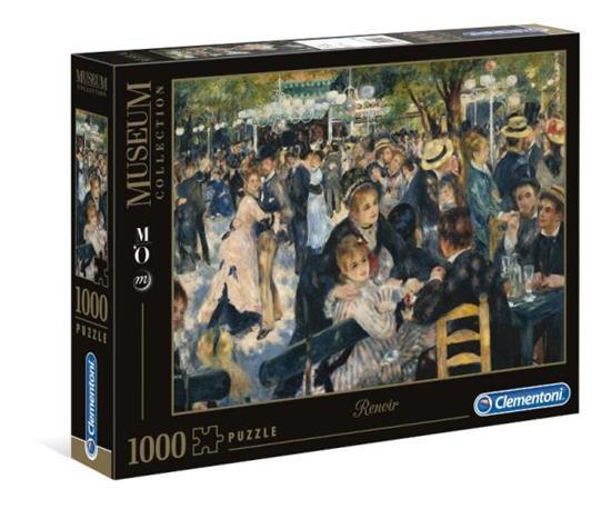 Clementoni Puzzle 1000el Museum d'Orsey. Renoir. Bal du Moulin 31412 p6, cena za 1szt. (31412 CLEMENTONI)