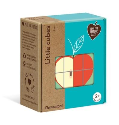 Clementoni Małe kostki Owoce 50171 (50171 CLEMENTONI)