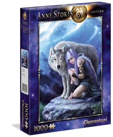 Clementoni Puzzle 1000el Protector Anne Stokes 39465 p6, cena za 1szt. (39465 CLEMENTONI)