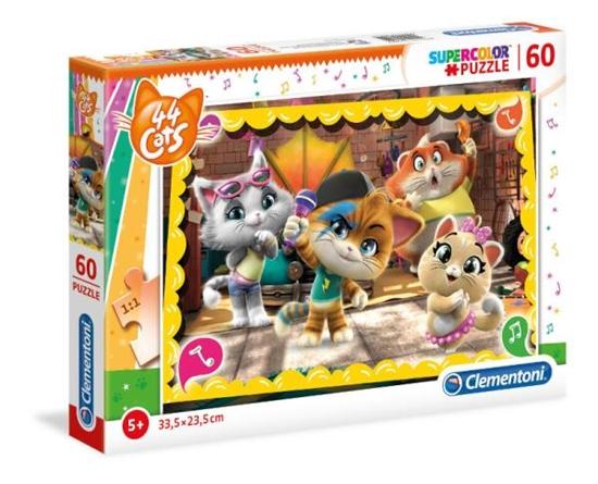Clementoni Puzzle 60el 44 Koty 26052 p6 (26052 CLEMENTONI)