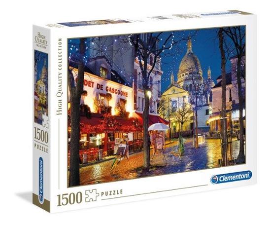 Clementoni Puzzle 1500el Paris, Montmartr 31999 p6, cena za 1szt. (31999 CLEMENTONI)