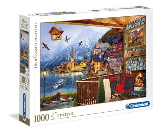 Clementoni Puzzle 1000el HQ Hallstadt 39481 p6 (39481 CLEMENTONI)