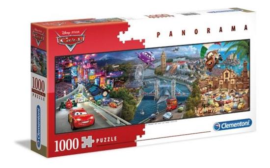 Clementoni Puzzle 1000el Panorama - Cars 39446 p6, cena za 1szt. (39446 CLEMENTONI)