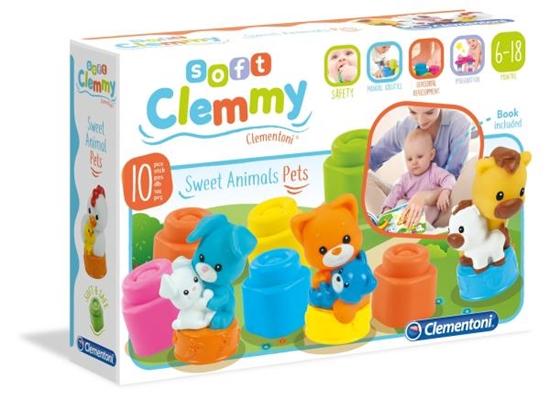 Clementoni Clemmy Słodkie zwierzaki domowe 17175 p6, cena za 1szt. (17175 CLEMENTONI)
