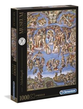 Clementoni Puzzle 1000el Museum Michelangelo: Sąd ostateczny 39497 p6 (39497 CLEMENTONI)