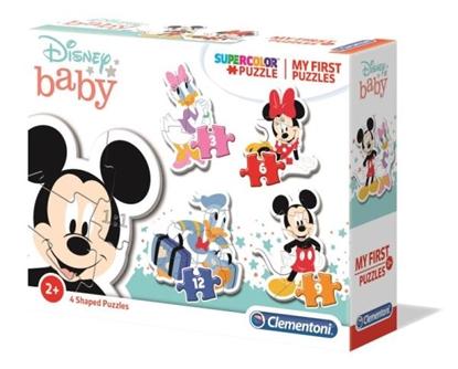 Clementoni Moje Pierwsze Puzzle Disney Baby Mickey Mouse 20819 (20819 CLEMENTONI)