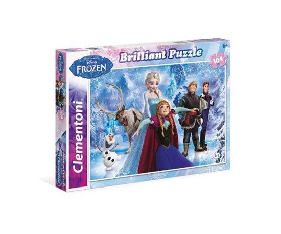 Clementoni Puzzle 104el Brilliant Frozen 20127 (20127 CLEMENTONI)