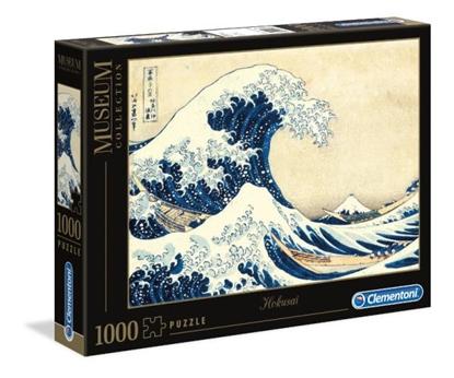 Clementoni Puzzle 1000el Hokusai. Wielka fala w Kanagawie 39378 p6, cena za 1szt. (39378 CLEMENTONI)