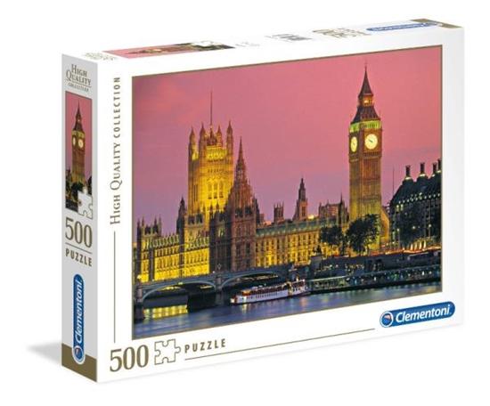 Clementoni Puzzle 500el Londyn 30378 p6, cena za 1szt. (30378 CLEMENTONI)
