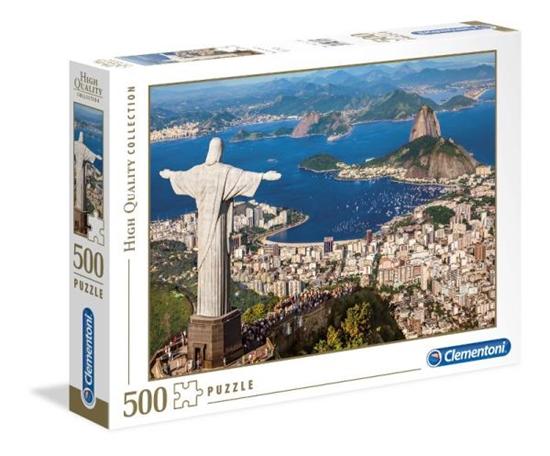 Clementoni Puzzle 500el Rio De Janeiro 35032 (35032 CLEMENTONI)