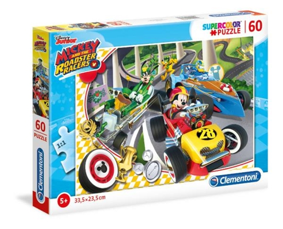 Clementoni Puzzle 60el Mickey Roadster Racers 26976 (26976 CLEMENTONI)
