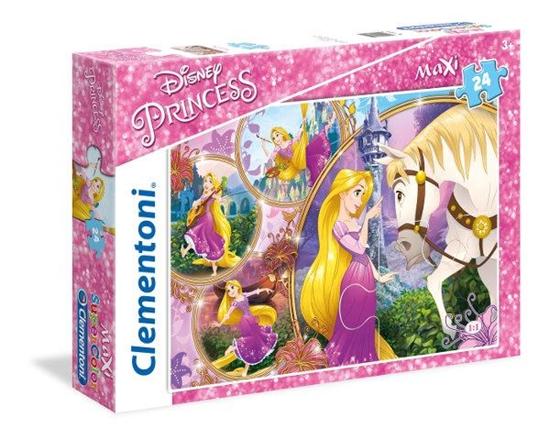 Clementoni Puzzle 24el Maxi Princess - Zaplątani 23702 (23702 CLEMENTONI)